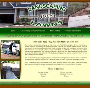 Joe's Landscaping