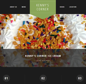 Kenny's Corner Ice Cream